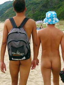 gay beach nude men outdoors