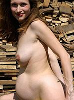 pregnant nudes