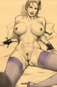 Erotic porn drawings
